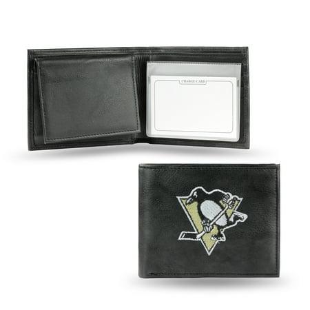 NHL - Men's Pittsburgh Penguins Embroidered Billfold Wallet