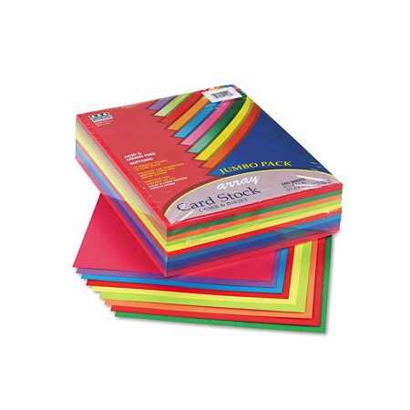 Branded Pacon Array Card Stock, 65 lbs., Letter, Assorted Colors 250 Sheets/Pack Pack of 1 [Qty Discount / wholesale