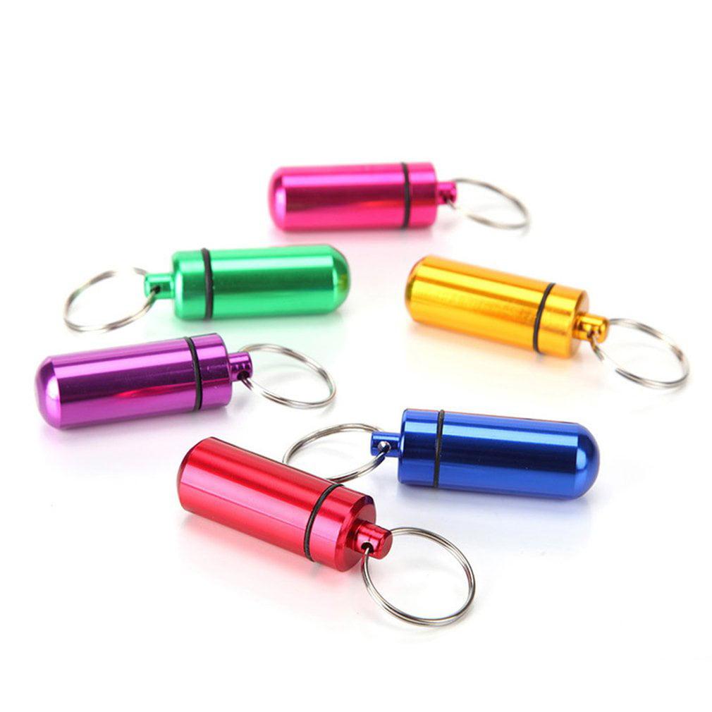 LESHP Outdoor aluminum alloy emergency medicine bottle
