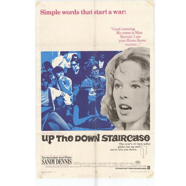 Posterazzi MOVAH9268 Up the Down Staircase Movie Poster - 27 x 40 in. - image 1 de 1