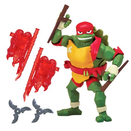 Rise of the Teenage Mutant Ninja Turtle Raphael Action Figure - Nunchucks Teenage Mutant Ninja Turtles
