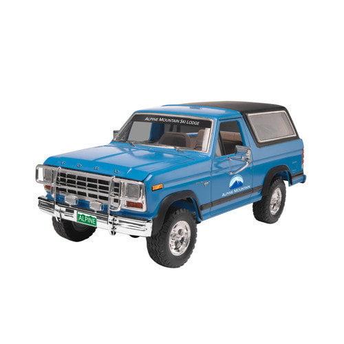 Revell Monogram 1980 Ford Bronco 2N1 Car Model Kit