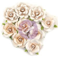 Prima Marketing 637583 Dry Desert - Pretty Pale Paper Flower