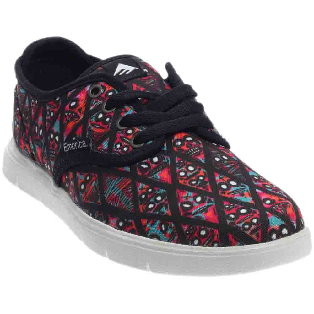 Emerica Wino Cruiser LT X Fos - Black;Red - Mens
