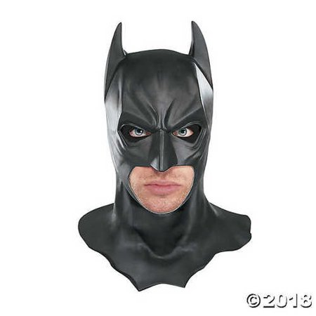 Motor-acc Halloween Full Overhead Latex Batman Mask Costume The Dark Knight Rises Movie Party Masks Carnival Cosplay Props (Halloween Abc)