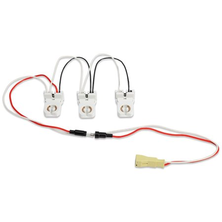GE 32083 - 3-Lamp Wiring Harness for LED Tubes Includes (3) Pre-Wired on