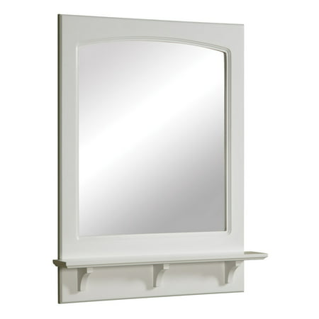 Design House 539916 Concord Mirror with Shelf 24