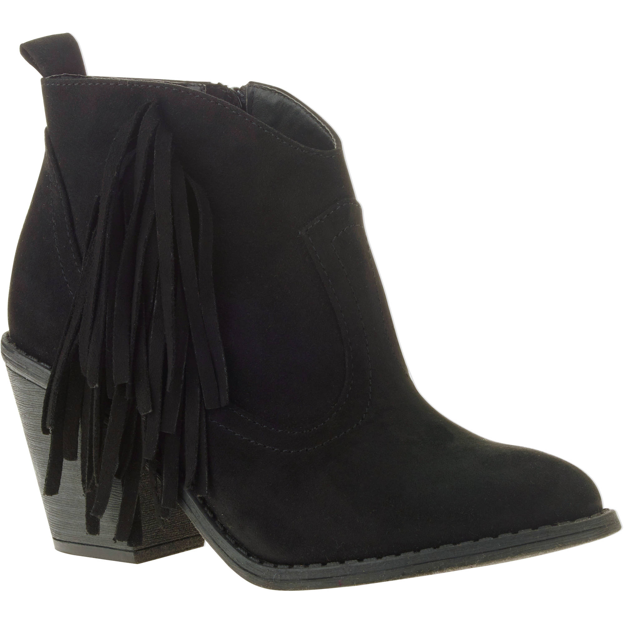 Faded Glory Women's Heel Boot - Walmart.com