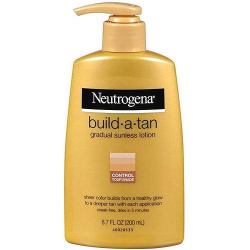 Sunless tan lotion