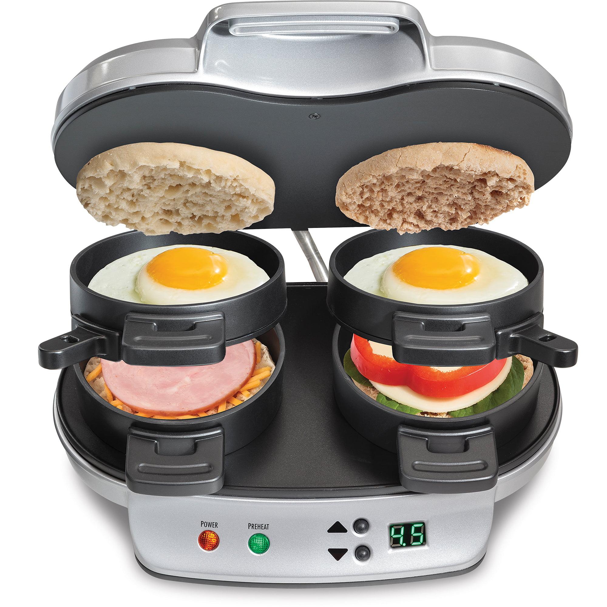 Hamilton Beach Dual Breakfast Sandwich Maker | Model# 25490