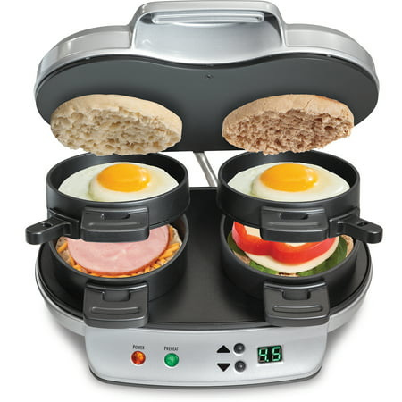 Hamilton Beach Dual Breakfast Sandwich Maker | Model# 25490