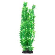 Fishbowl Plastic Artificial Ornament Aquarium Plant Decoration Green