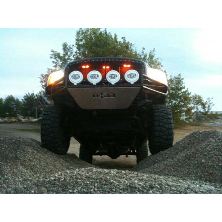 - N-Fab Bumpers; RSP PreRunner Front Bumper; Textured Black