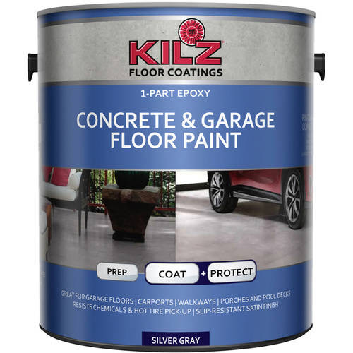 1 Gal Satin 1 Part Epoxy Acrylic Concrete And Garage Floor Paint