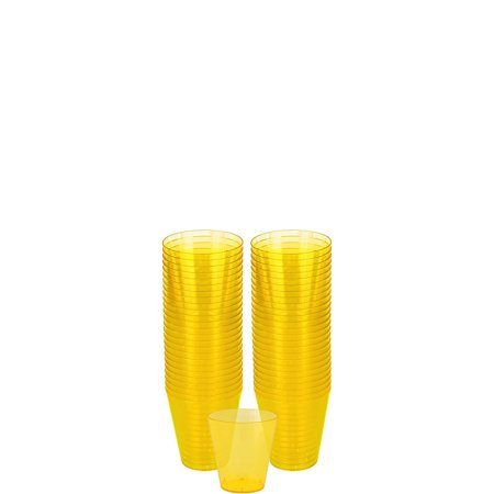 Holiday Party Themes (HollyDel Holidays, Themes, Occasions Holiday Parties Easter Tableware; Big Party Pack Sunshine Yellow Plastic Shot Glasses)