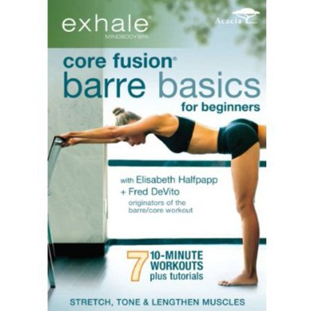- EXHALE-CORE FUSION BARRE BASICS FOR BEGINNERS (DVD/WS 1.78) (DVD)
