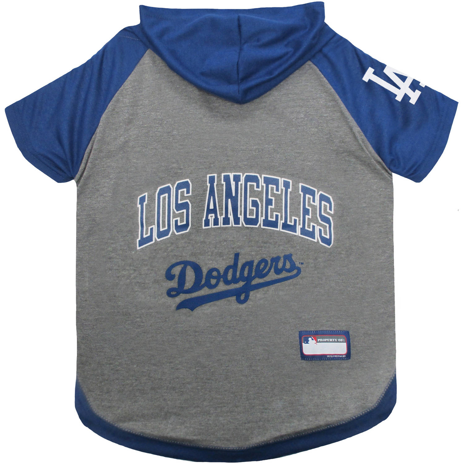 Pets First MLB Los Angeles Dodgers Hoodie Tee Shirt