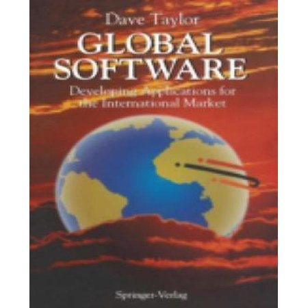 Global Software  Developing Applications For The International Market