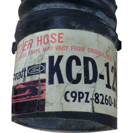 Motorcraft KCD-122 Radiator Coolant Hose C9PZ-8260-AE 81361 26512 53224  KCD122