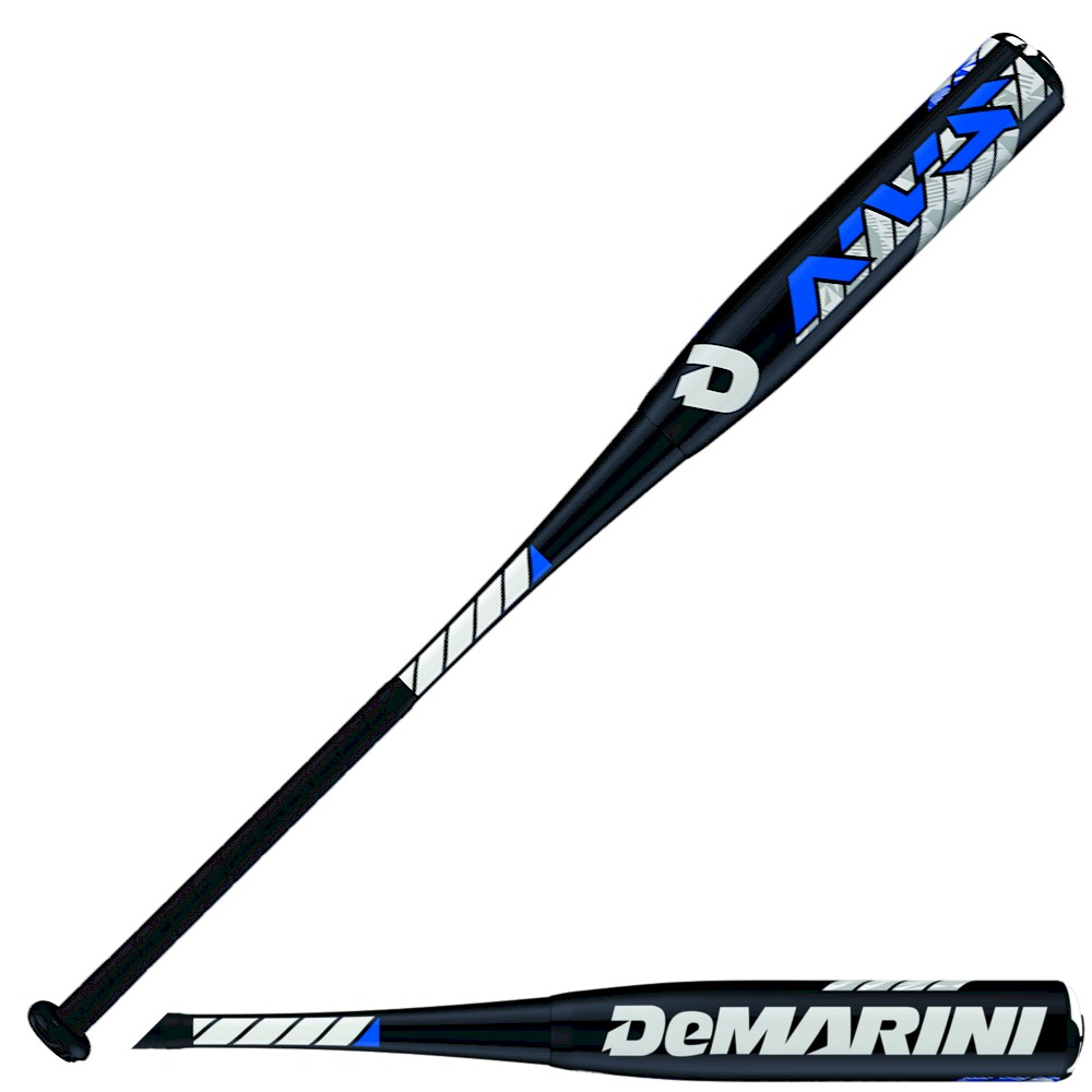 2016 DeMarini NVS Sr League Baseball Bat (-10) - 2-5/8in - 32in / 22oz