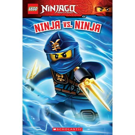 Lego Ninjago: Ninja vs. Ninja (Lego Ninjago: Reader) (Paperback) (Lego Easy Read Books)