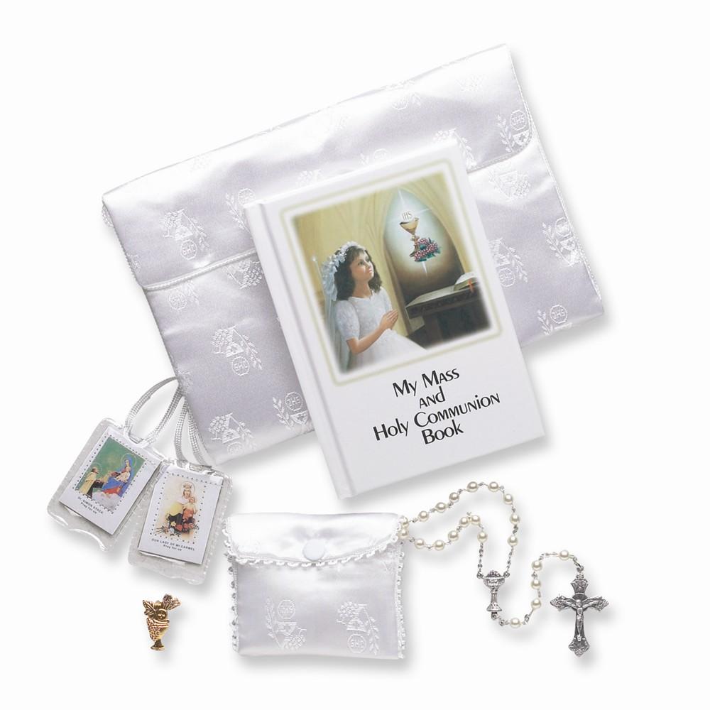5 pc. Girls First Communion Gift Set