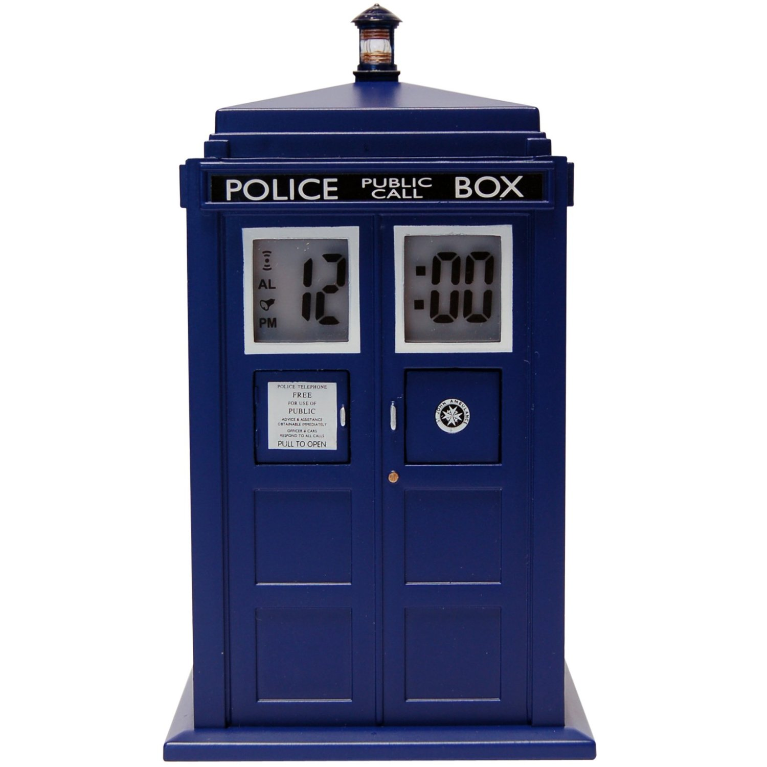 Doctor Who TARDIS Projection Alarm Clock by