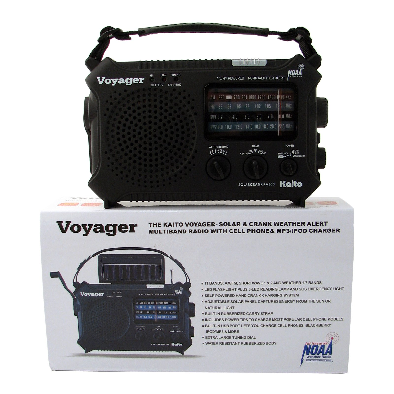 Mayday C-79-500 Voyager Solar AM-FM Weather Band