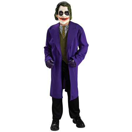 Batman the Dark Knight Joker Costume Child (Kids Dark Knight Batman Costume)