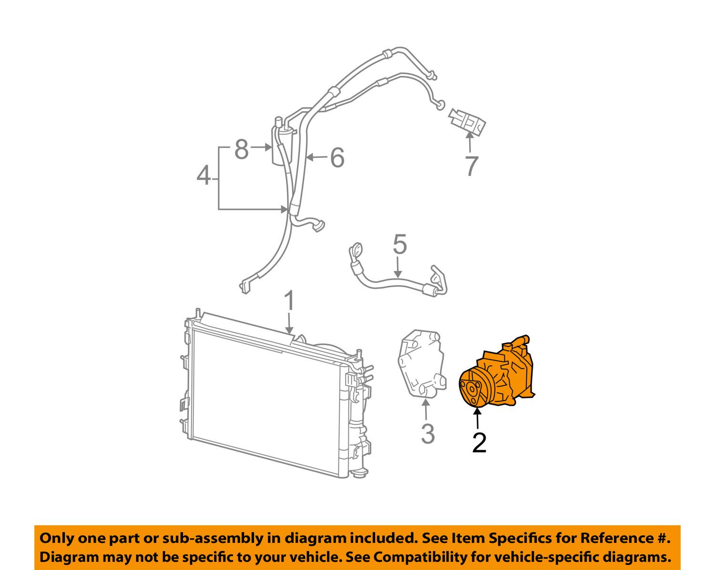 A//C Compressor Fits Stratus L4 2.4L V6 2.7L Convertible /& Sedan ONLY Sebring