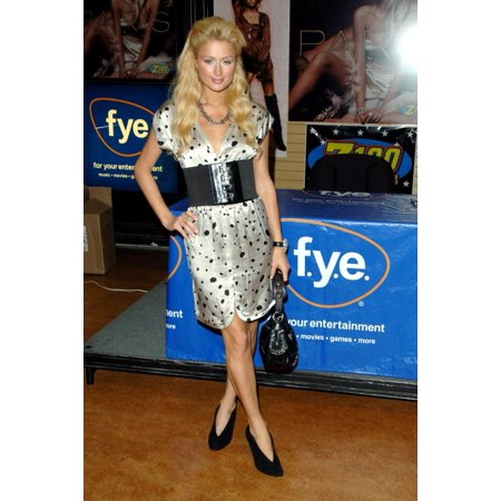 Paris Hilton    At In-Store Appearance For Paris Hilton Launches Paris Cd At Fye In New York Fye Music Store New York Ny August 16 2006 Photo By George TaylorEverett Collection (Best Way To Store Cd Collection)