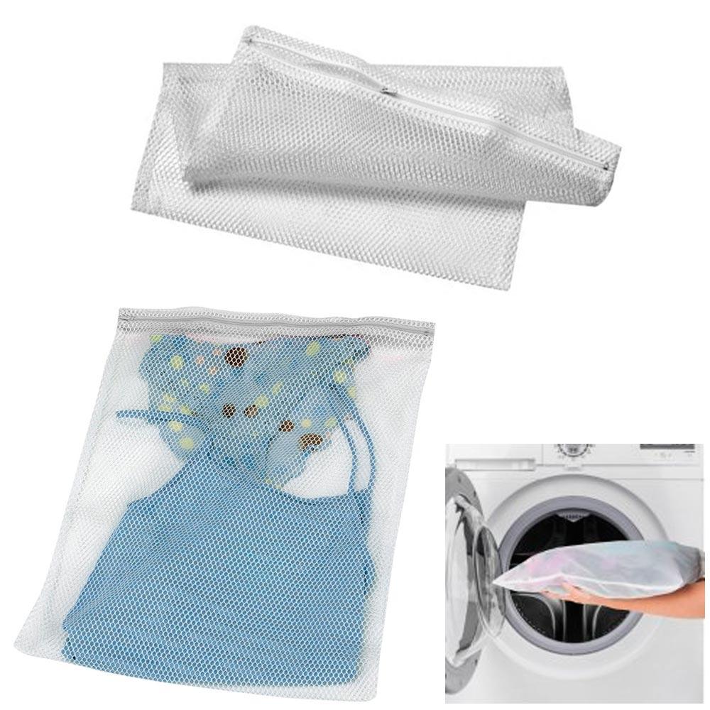 "1 Mesh Laundry Bag 16"" x 20"" Lingerie Delicates Panties Hose Bras Wash Protector"