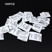 50PCS Non-Toxic Silica Gel Desiccant Damp Moisture Absorber Dehumidifier for Room Kitchen Clothes Food Storage;50PCS Non-Toxic Silicone Desiccant Damp Moisture Absorber Dehumidifier