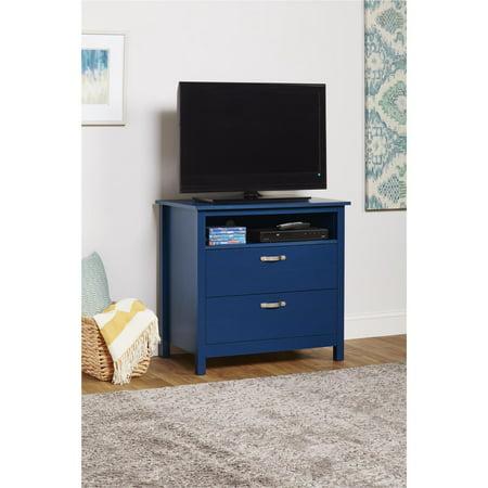 Jordan 2 Nightstand Media Dresser - Blue - Room & Joy