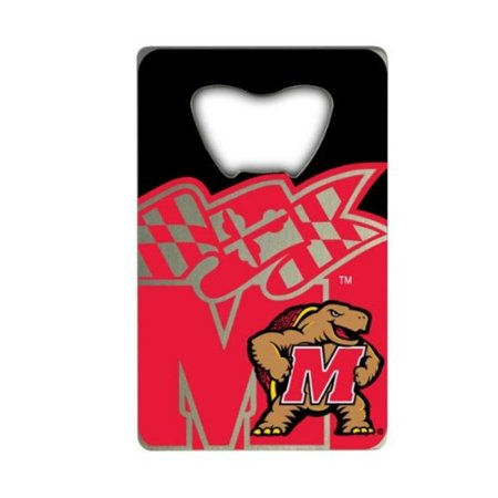 NCAA Maryland Terrapins Credit Card Style Bottle Opener](Personalized Credit Card Bottle Opener)