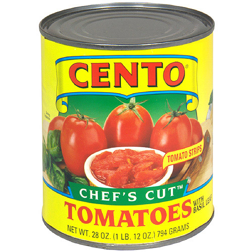 Cento Chef's Cut Tomatoes, 28 oz  (Pack of 12)
