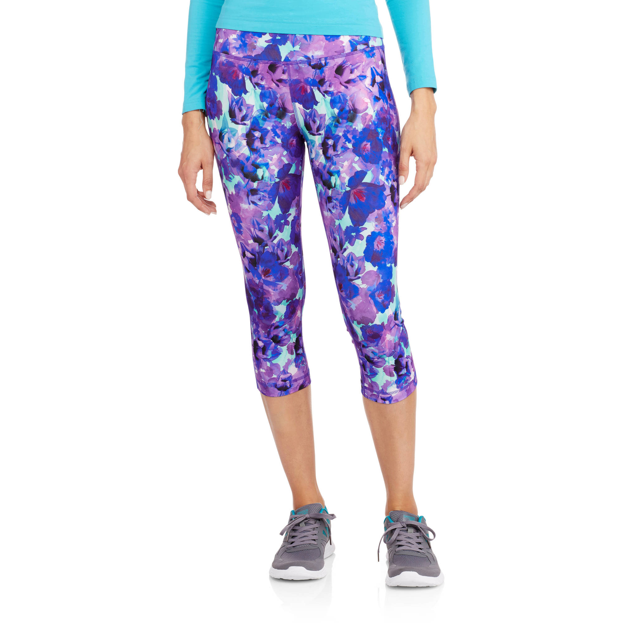 Danskin Now Women's Printed Capri Tight