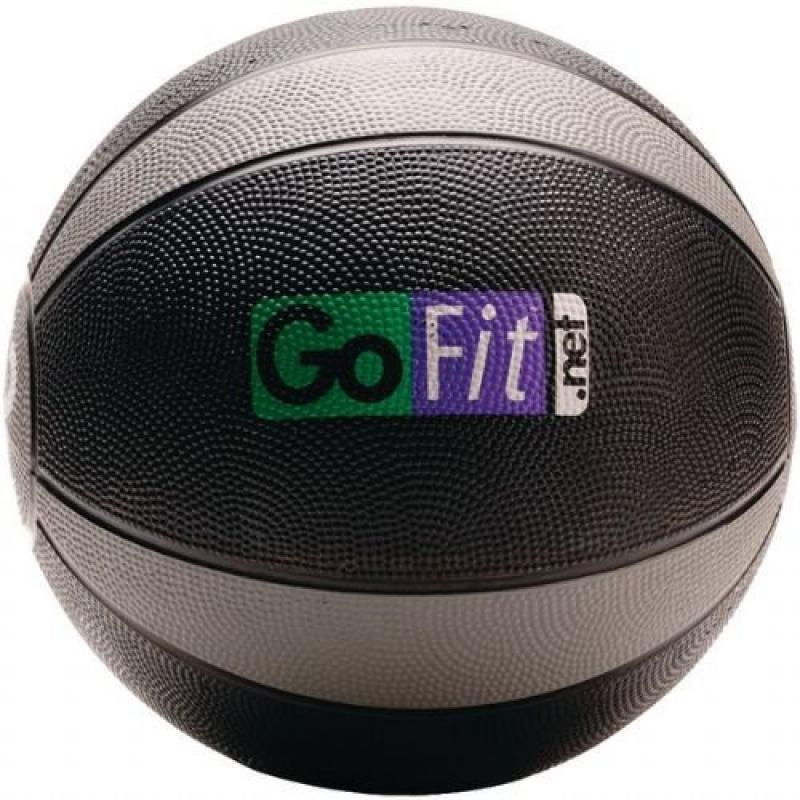 GOFGFMB12 - GOFIT GF-MB12 Medicine Ball Core Performance Training DVD (12 lbs; Black Gray)