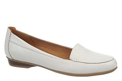 Naturalizer Womens Saban Leather Slip On Loafers by Naturalizer