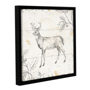 ArtWall Daphne Brissonnet's Wild and Beautiful VI, Gallery Wrapped Floater-framed Canvas