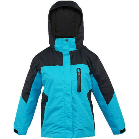 Iceburg Girls' 3 in 1 System Jacket with Removable Liner