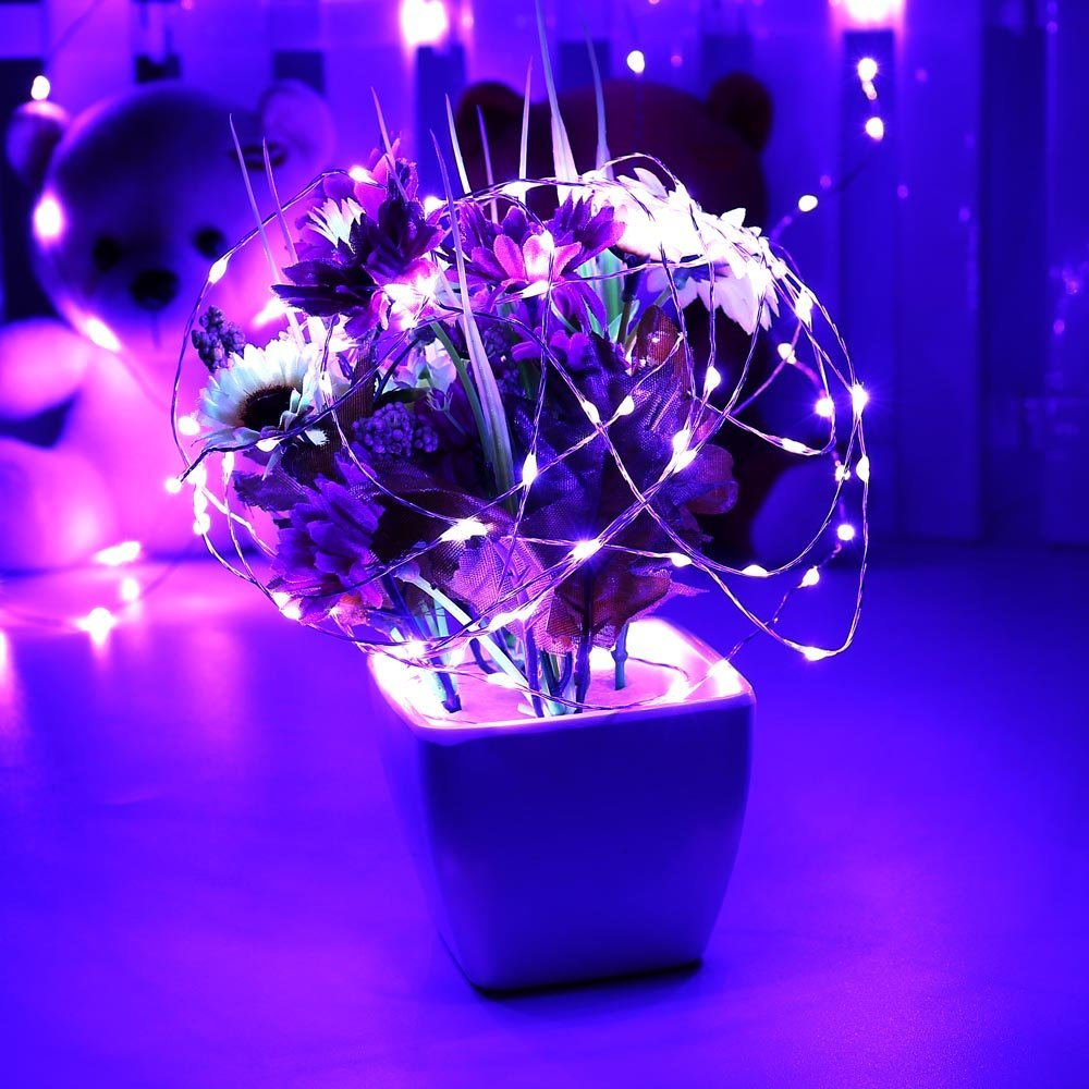 Halloween SUPER BRIGHT Holiday Decorative Solar String Lights LED 26ft 120 LED Fairy String Lights for Home, Patio,... by