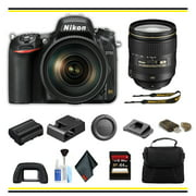 Nikon D750 DSLR Camera with 24-120mm Lens Starter Bundle - (Intl Model)