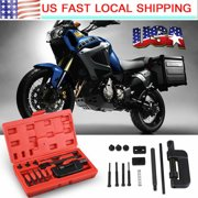 13Pcs Bike / Motorcycle / Cam Drive Chain Breaker Rivet Cutter Tool Kit US Stock