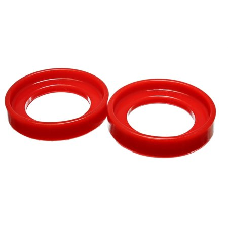 Energy Suspension 90-97 Honda Accord/Odyssey / 92-01 Honda Prelude Red Front Coil Spring Isolator Se