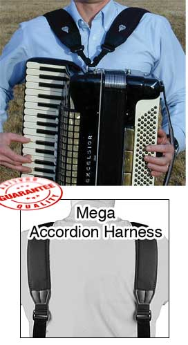 Neotech Mega Accordion Harness Straps by Neotech