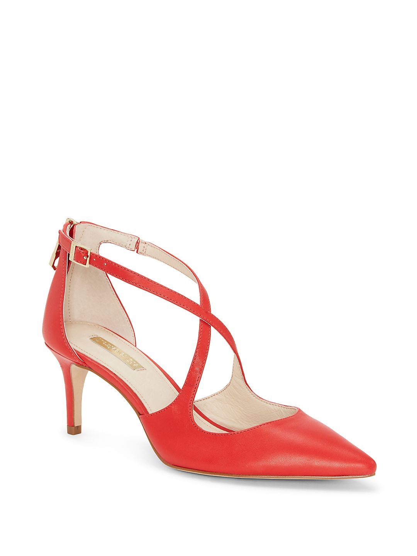 Louise et Cie Women's Jena Crisscross Pointed Toe Heel