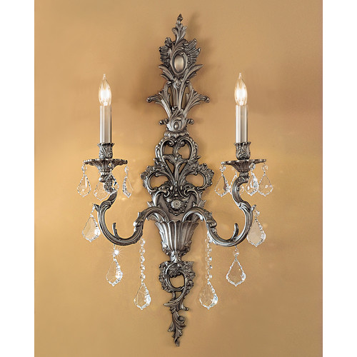 Classic Lighting Majestic 2 Light Wall Sconce