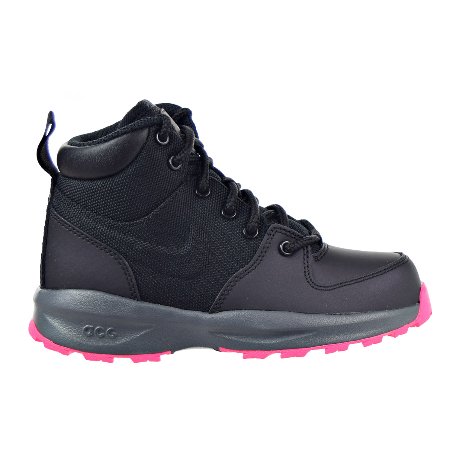 Nike Manoa Little Kids (PS) Boots Black/Hyper Pink 859413...