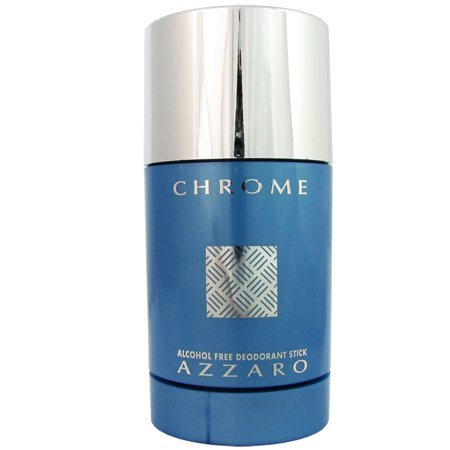 Azzaro Chrome for Men by 2.7 oz Deo. Stick